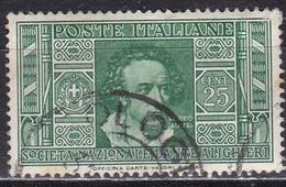 Regno D'Italia, 1932 - 25c Vittorio Alfieri - Nr.306 Usato° - Usati