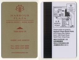 Hotelkey Key Card Hotel Harbor Plaza North Point HONG KONG - Hotel Keycards