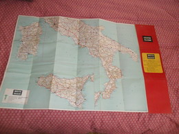 MOTO GUZZI  Carta Stradale ITALIA - Moto