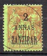 Col11    Zanzibar N° 23 Neuf X MH  : 12,00 Euros - Oblitérés