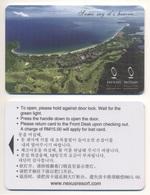 Hotelkey Key Card Hotel Nexus Resort Karambunai MALAYSIA - Hotel Keycards