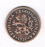 10 HALLER  1937  TSJECHOSLOWAKIJE /0326/ - Tchécoslovaquie