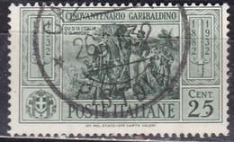 Regno D'Italia, 1932 - 25c Giuseppe Garibaldi - Nr.317 Usato° - 1900-44 Vittorio Emanuele III