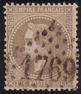 N°30 Oblitéré GC, 1er Choix - 1863-1870 Napoléon III. Laure