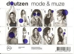 Pays-Bas Netherlands 2016 Fashion Model Doutzen Kroes Feuille Block MNH ** - Unused Stamps
