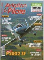 Revue Aviation Et Pilote N°390 Juillet  2006 - P2002 SF - Hélico Initiation Au R44 - Ferté-Alais - Aviation
