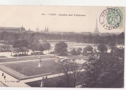 CPA -  124. PARIS Jardin Des Tuileries - Parcs, Jardins