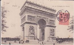 CPA - PARIS - Arc De Triomphe De L'étoile - Arc De Triomphe