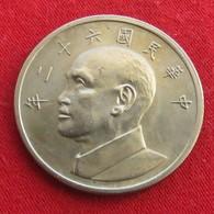Taiwan 5 Yuan 1973 / 62 Y# 548  Lt 185  China Chine Formosa - Taiwan