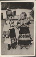 Mezőkövesdi Népviselet, C.1930s - Foto Levelezőlap - Hungary