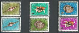 "Madagascar YT 516 à 521 "" Coquillages "" 1973 Neuf** - Madagascar (1960-...)"