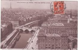 CPA - PARIS -panorama Pris De Notre Dame - France