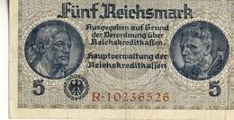 Germany 5 Reichsmark Third Reich - [ 4] 1933-1945 : Tercer Reich