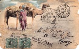 Thematiques Italie Envoi De Caltanisseta Le 25 Fevrier 1899 On Parle Mine De Canicasse Timbre Cachet Nancy 02 Mars 1899 - Caltanissetta