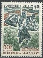 "Madagascar YT 522 "" Journée Du Timbre "" 1973 Neuf** - Madagascar (1960-...)"