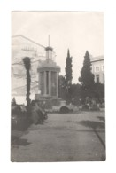 01427 Batum Kominterna Street Fontain 1920s RPPC - Georgia