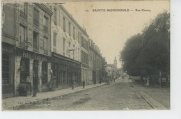 SAINTE MENEHOULD - Rue Chanzy - Sainte-Menehould