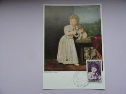 CARTE MAXIMUM CARD DAUGHTER OF ROBERTO STROZZI BY TIZIAN SAAR - Kunst