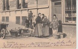 Bruxelles Marchantdes D'Oranges  1902??? - Petits Métiers