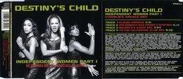 CD DESTINY'S CHILD Independant Women Part 1 (Charlie's Angels Ost) - Rap & Hip Hop