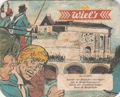 UNUSED BEERMAT - BROUWERIJ WIELMANS (VORST, BELGIUM) - WIEL'S - Sous-bocks