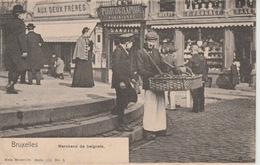 Bruxelles Marchantdes  De Beignets 1903 ??? - Petits Métiers