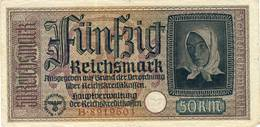 Germany 50 Reichsmark Third Reich - [ 4] 1933-1945: Derde Rijk
