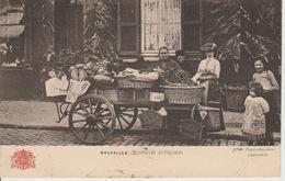 Bruxelles Marchande De Légumes 1904??? - Petits Métiers