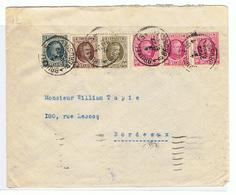 Zeer Mooi Document  Van Willy Balasse, Postzegelhandelaar Van 1935 Naar Bordeaux - Werbung