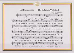 Belgique, La Brabançonne Chant National. - Belgique