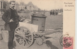 Bruxelles Marchande De Marons 1903??? - Petits Métiers