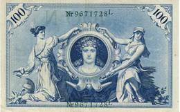Germany 100 Reichsmark Third Reich - [ 4] 1933-1945: Derde Rijk