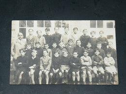LA BAULE    1930   UNE CLASSE  ASSEMBLE   / CIRC /  EDITION CARTE PHOTO - La Baule-Escoublac