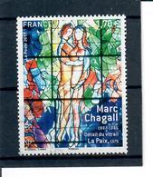 Yt 5116 Marc Chagall Detail Du Vitrail La Paix - France