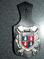 INSIGNE METAL   POMPIERS MANOSQUE - Firemen