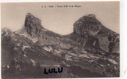 SUISSE : édit. Jullien Frères N° 8265 ; Tours D Ai Et Le Mayen - VD Vaud