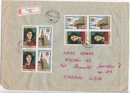 1974 , Roumanie To Moldova , N.Copernic , Postal History , Used Cover - 1948-.... Republics