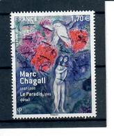 Yt 5117 Marc Chagall Detail Du Tableau Le Paradis - France