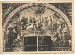 PALAZZO VATICANO - Stanze Di Raffaello - Il Monte Parnaso (Raffaello).  (scan Verso) - Vatican