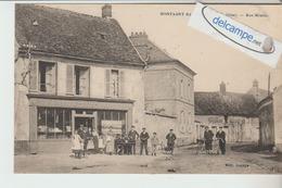 """MONTAGNY-SAINTE-FELICITE : Rue Montor,Epicerie """"Relier"""",animée. édit Lepage. - Frankreich"""