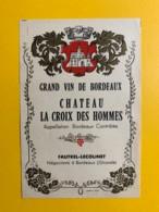 9694 - Château La Croix Des Hommes - Bordeaux