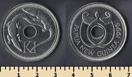 Papua New Guinea 1 Kina 1996 - Papouasie-Nouvelle-Guinée