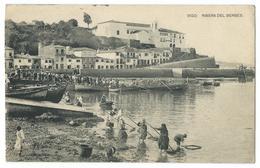 CPA Vigo Ribera Del Berbes Plage Bateaux - Espagne