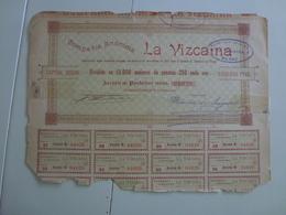 Action  Compagnie La Vizcaina Compania - Shareholdings