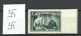 LETTLAND Latvia 1932 Michel 196 B NORMAL WM 5 Y + Bogenrand * - Lettonie