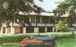 *DOMINICA: 153CDMC* - Scheda Usata - Dominica