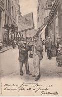 Bruxelles Porte Réclame 1914 ??? - Petits Métiers