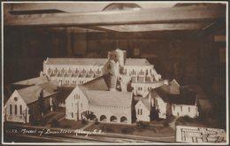 Model Of Beaulieu Abbey, Hampshire, 1930 - Sweetman RP Postcard - England