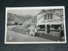BAREGES / ARDT  Argelès-Gazost   1930  TOURMALET  REFUGE CHEZ JOSEPH 2114 METRES / CIRC /  EDITION CARTE PHOTO - Andere Gemeenten