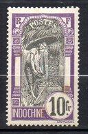 Col11    Indochine N° 58 Neuf X MH  : 117,00 Euros - Indochine (1889-1945)